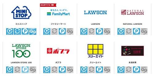 イオンカードWAON(電子マネー)加盟店コンビニ
