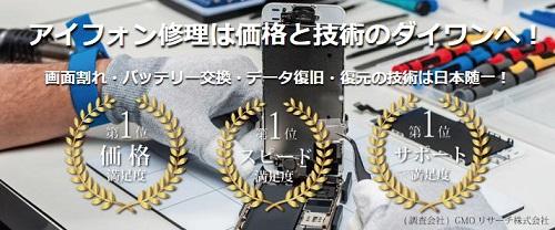 ダイワンテレコムiPhone